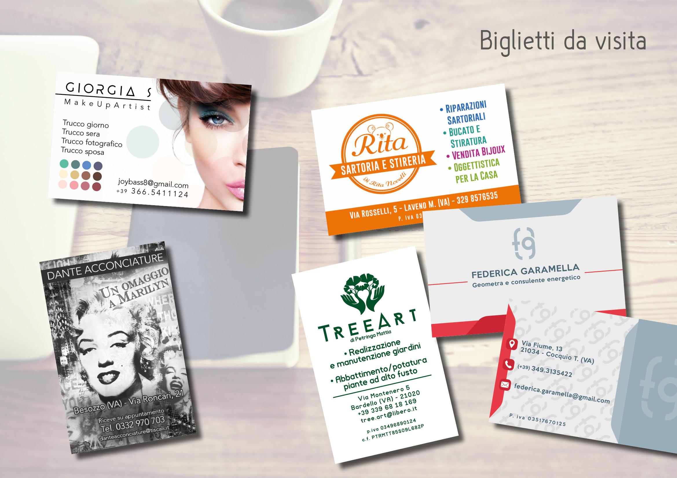 Biglietti Da Visita Flai Graphic Design